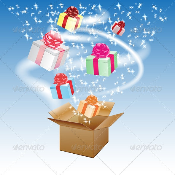 Gift Boxes - Vectors