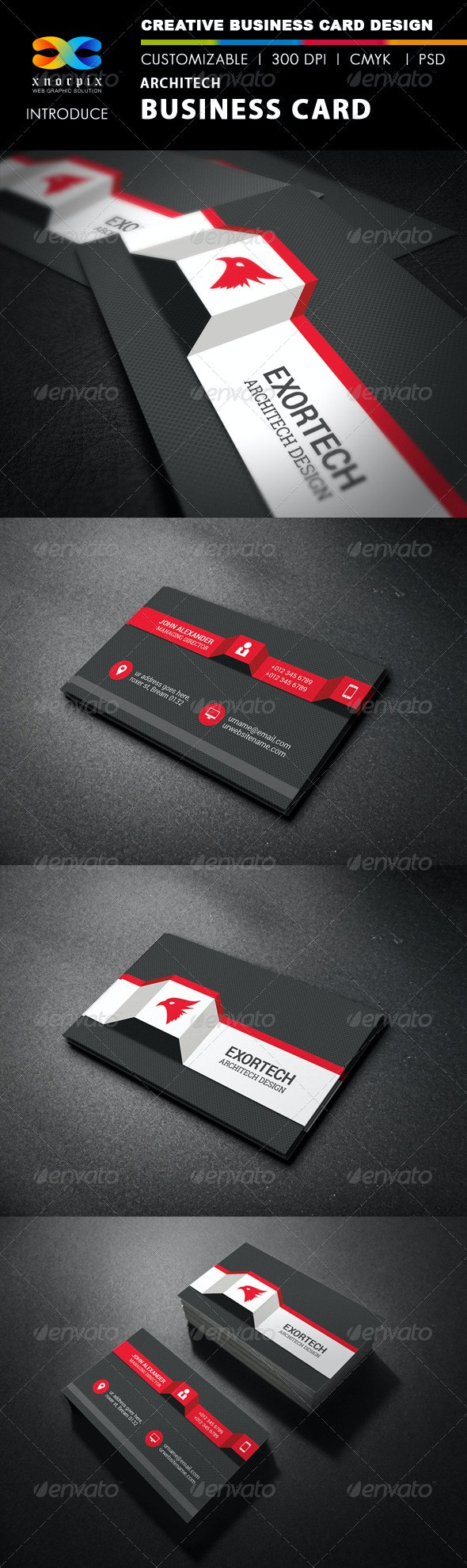 Architect Business Card - Corporate Business Cards