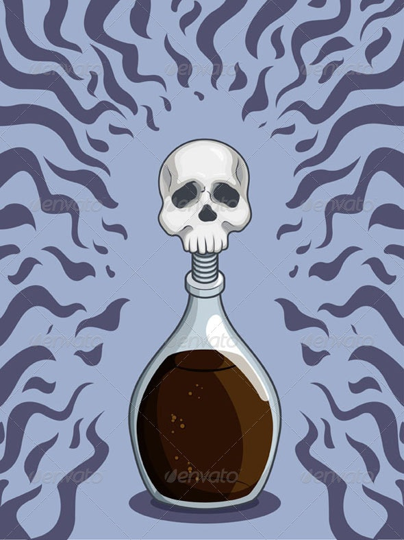 Bottle of Deadly Poison - Miscellaneous Conceptual