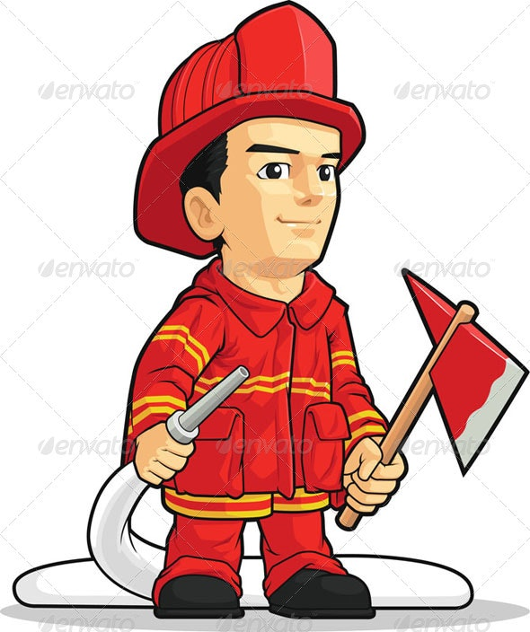 Firefighter  - People Characters