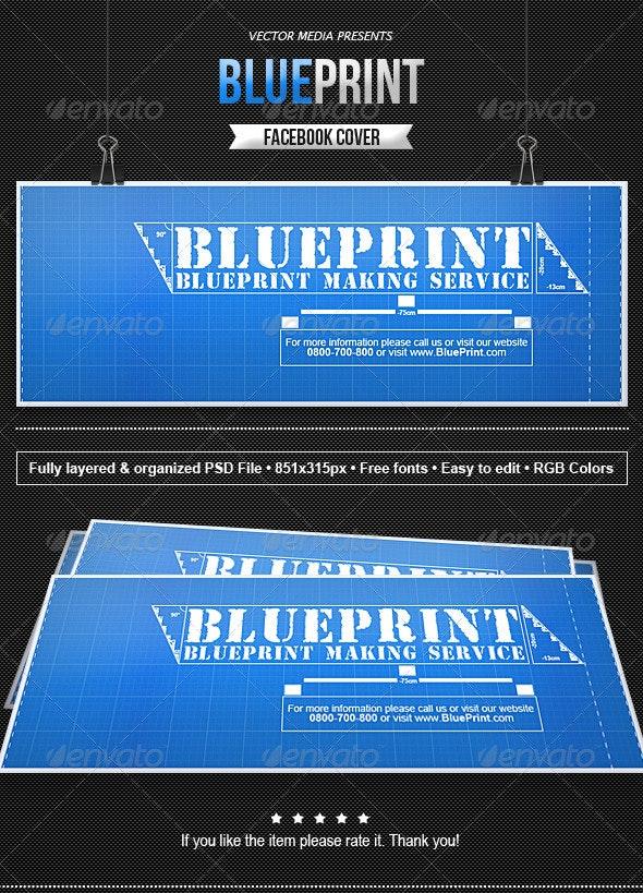 Blueprint - Facebook Cover - Facebook Timeline Covers Social Media