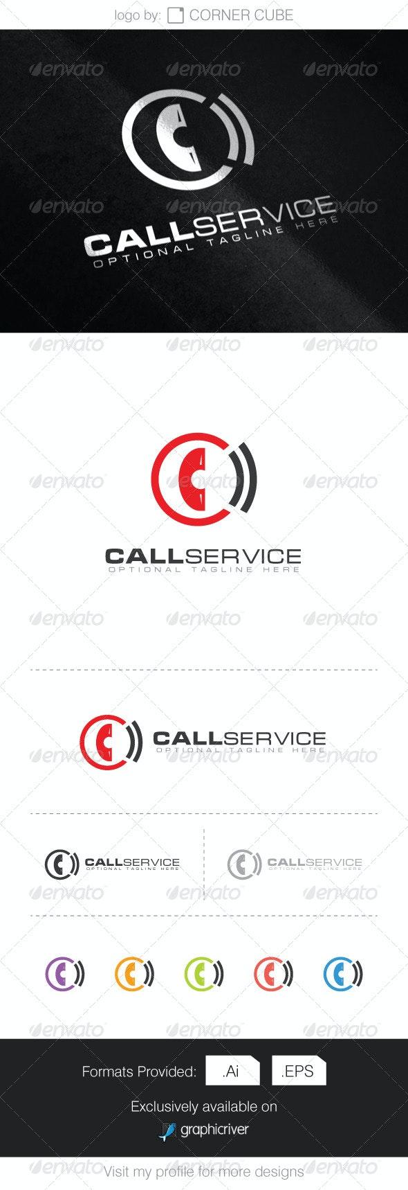 Call Service Logo - Logo Templates