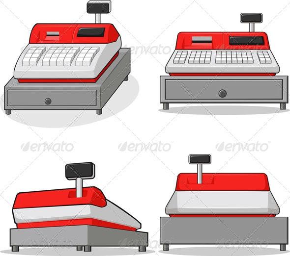 Cashier Machine - Retail Commercial / Shopping