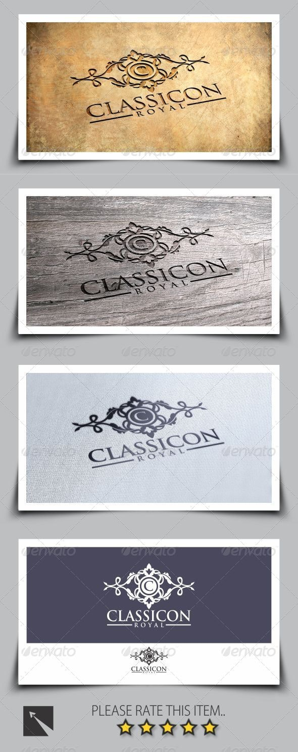 Royal Classicon Logo Template - Crests Logo Templates