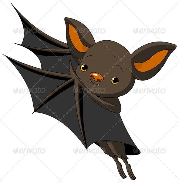Halloween Bat Presenting - Halloween Seasons/Holidays