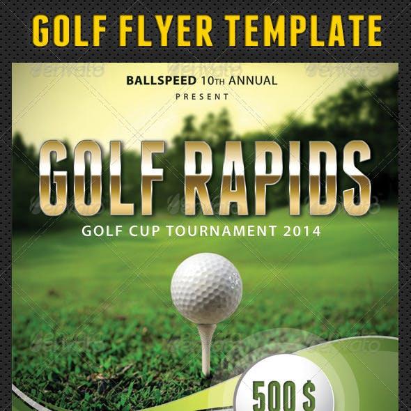 Golf Flyer Template 01