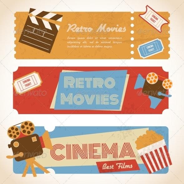 Retro Movie Banners - Retro Technology