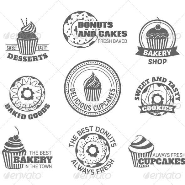 Donut Cupcake Labels