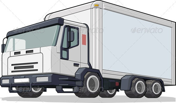 Delivery Truck - Industries Business