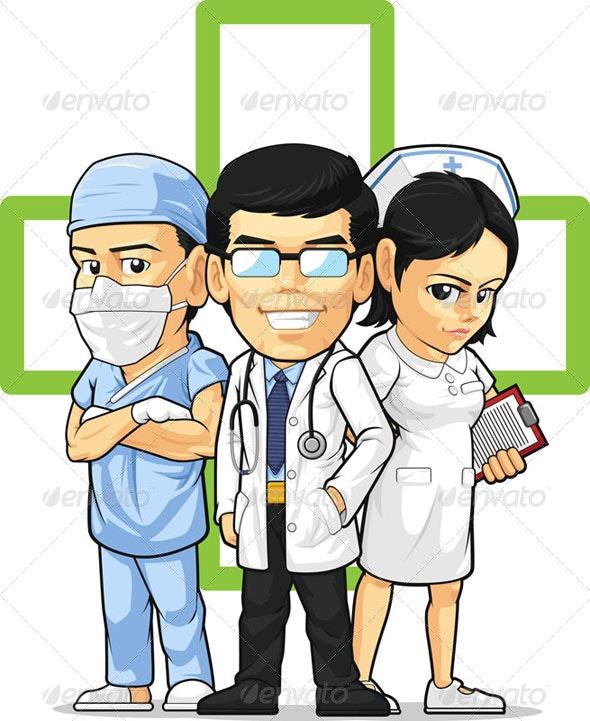 Health Care Staff - Health/Medicine Conceptual