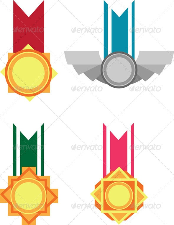Medals - Man-made Objects Objects
