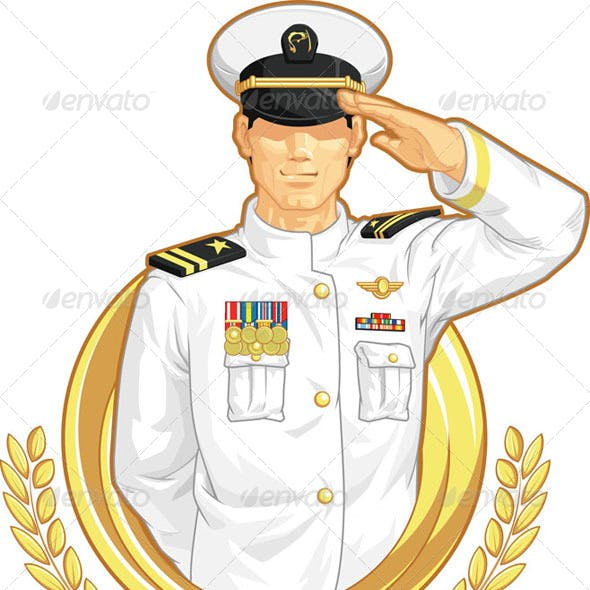 Military Officer Salute