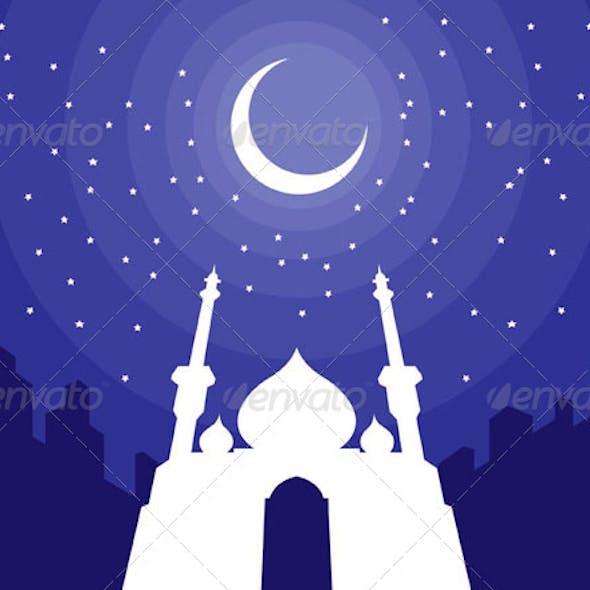 Ramadan & Eid Mubarak Greeting