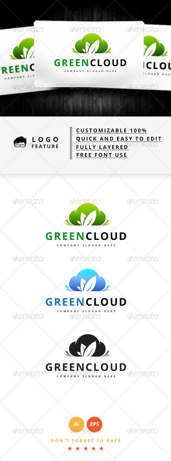 Green Cloud - Logo Templates