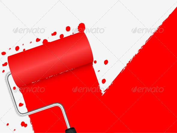 Paint Background - Objects Vectors