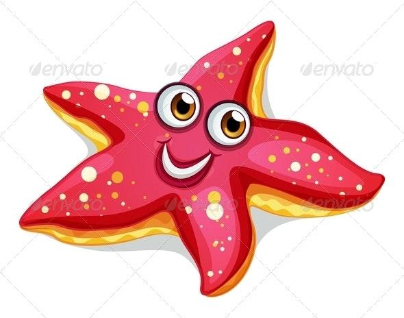 Happy Starfish - Animals Characters