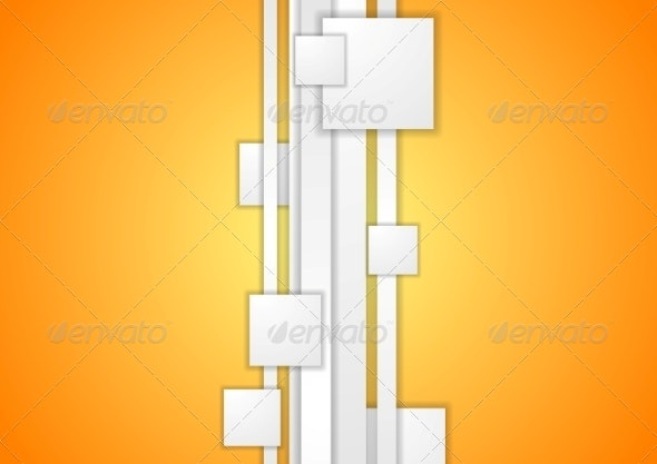 Abstract Tech Corporate Background - Abstract Conceptual