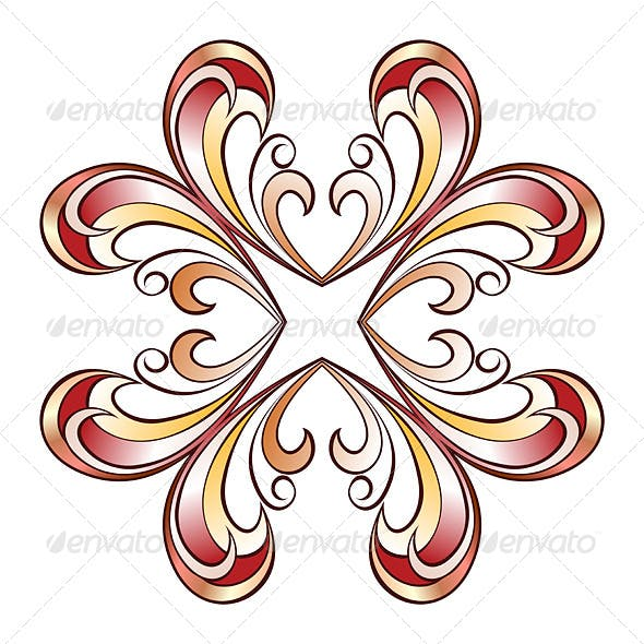 Ornate Floral Pattern