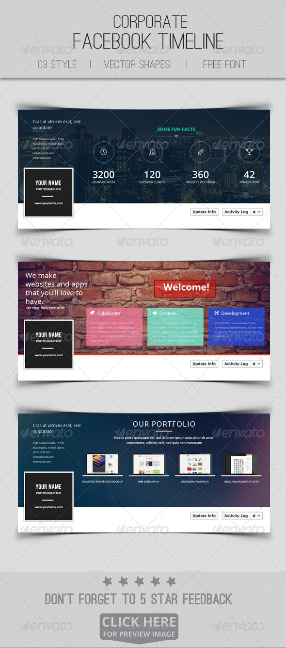 Facebook Timeline Covers Pack V01 - Facebook Timeline Covers Social Media