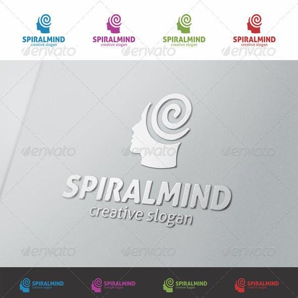 Spiral Mind - Creative Human Logo
