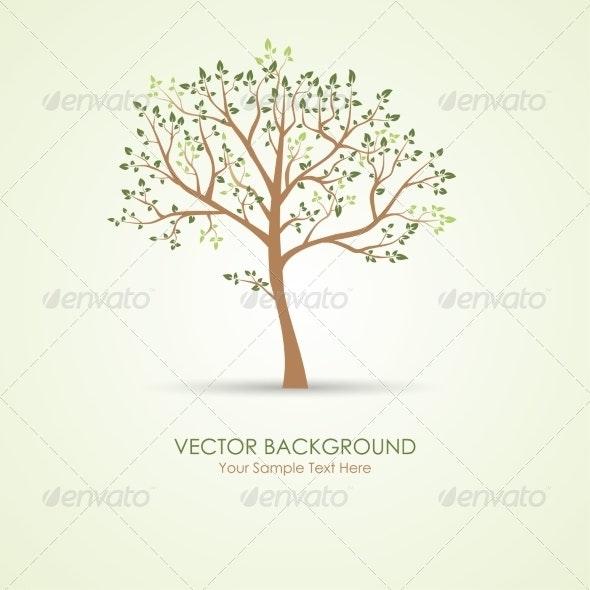 Vector Green Tree - Miscellaneous Vectors