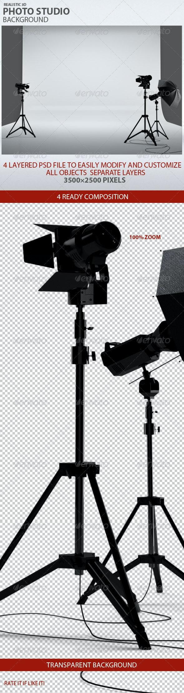 Photo Studio Background - Backgrounds Graphics