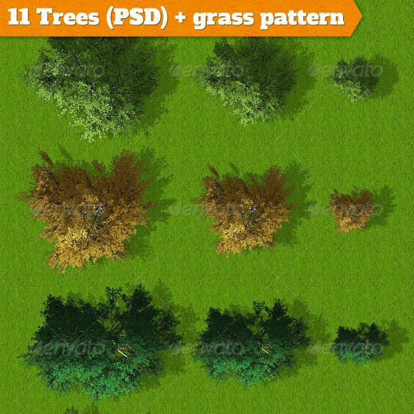 11 Trees for Landscapes