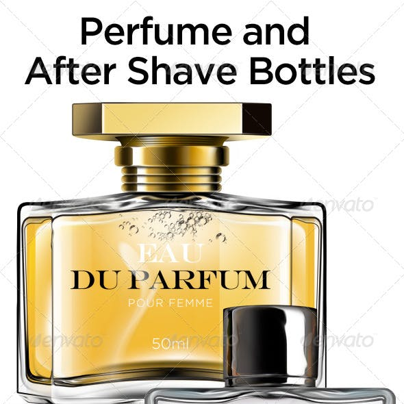 Perfume and After Shave Bottles