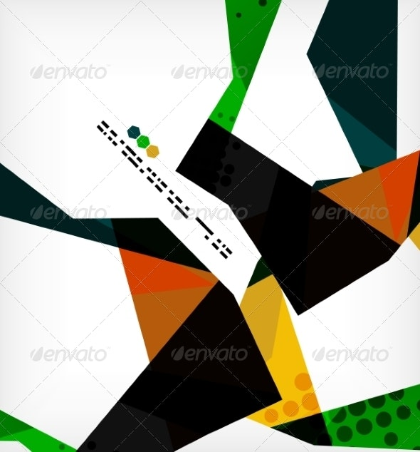 Geometric Pattern - Abstract Conceptual