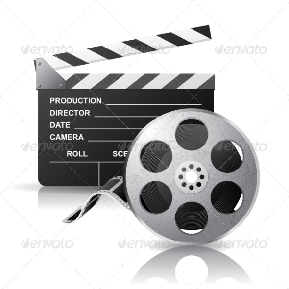 Movie Reel  - Man-made Objects Objects