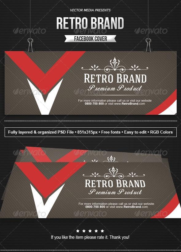 Retro Brand - Facebook Cover - Facebook Timeline Covers Social Media