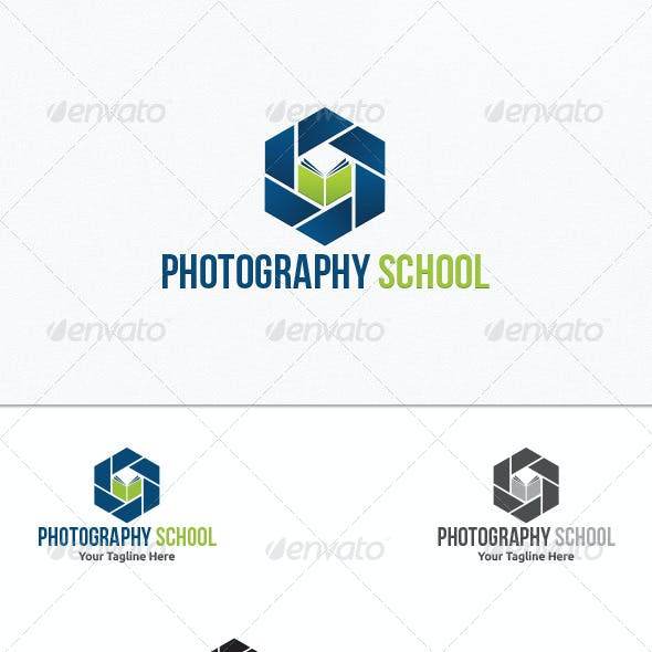 Photography School - Logo Template