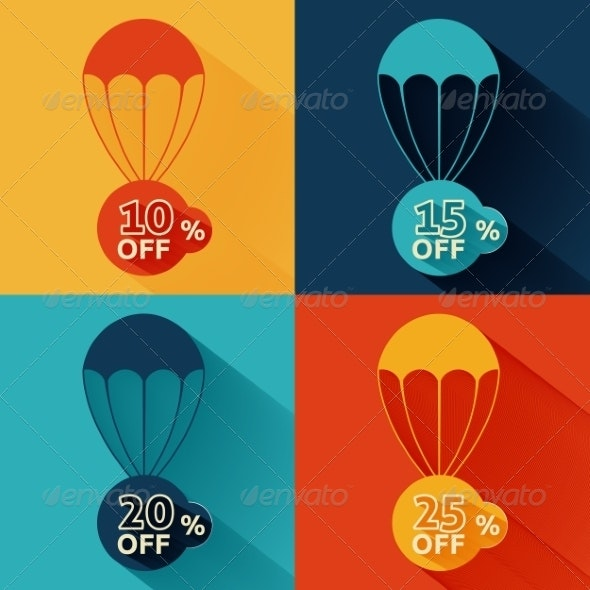 Discount Parachute Set - Man-made Objects Objects