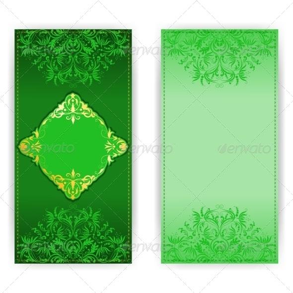 Royal Invitation Card with Elegant Pattern - Patterns Decorative