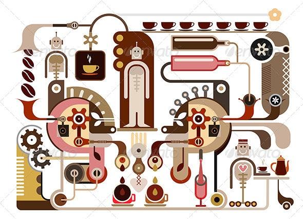 Coffee Shop - Food Objects