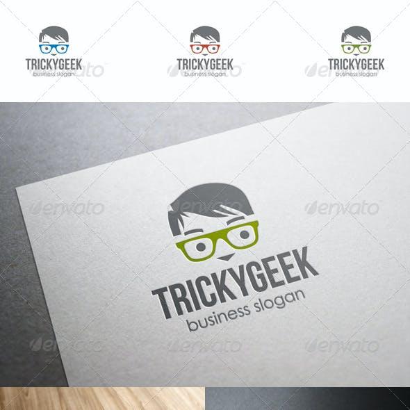 Tricky Geek Logo Template