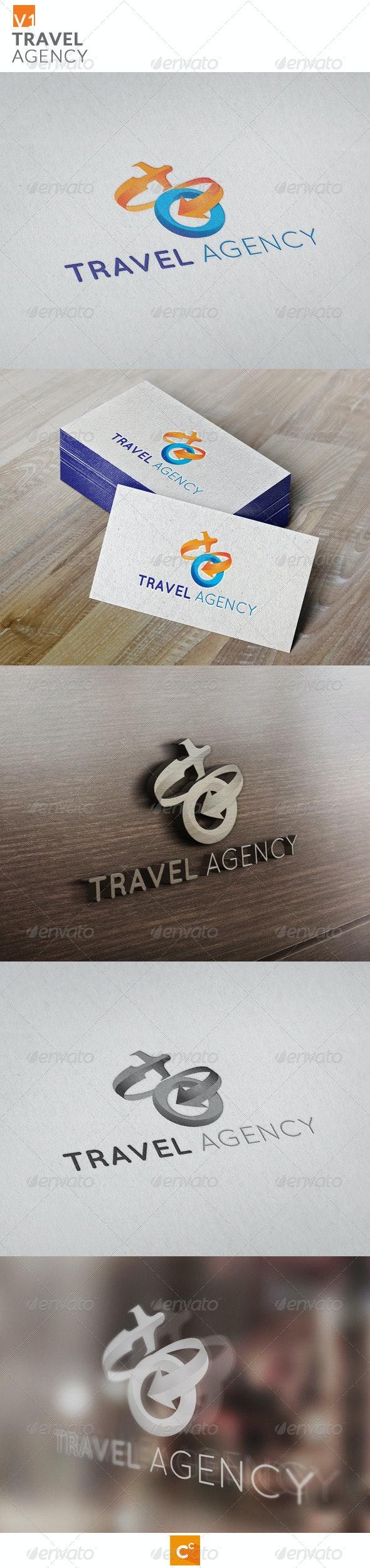 Travel Agency - Symbols Logo Templates
