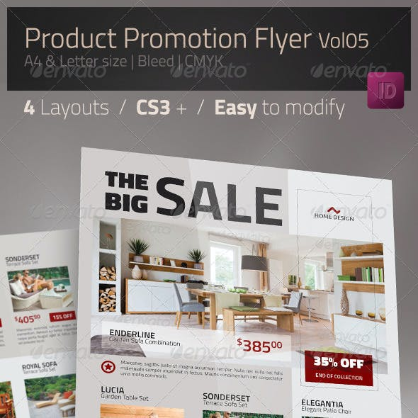 Product Promotion Flyer - Multipurpose