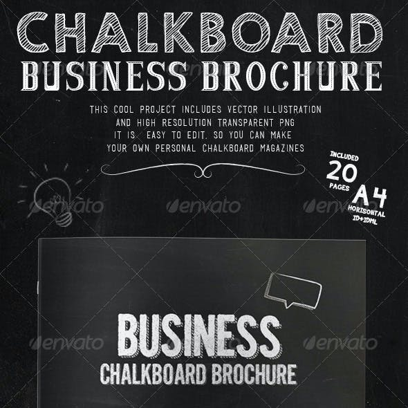 Business Chakboard Brochure