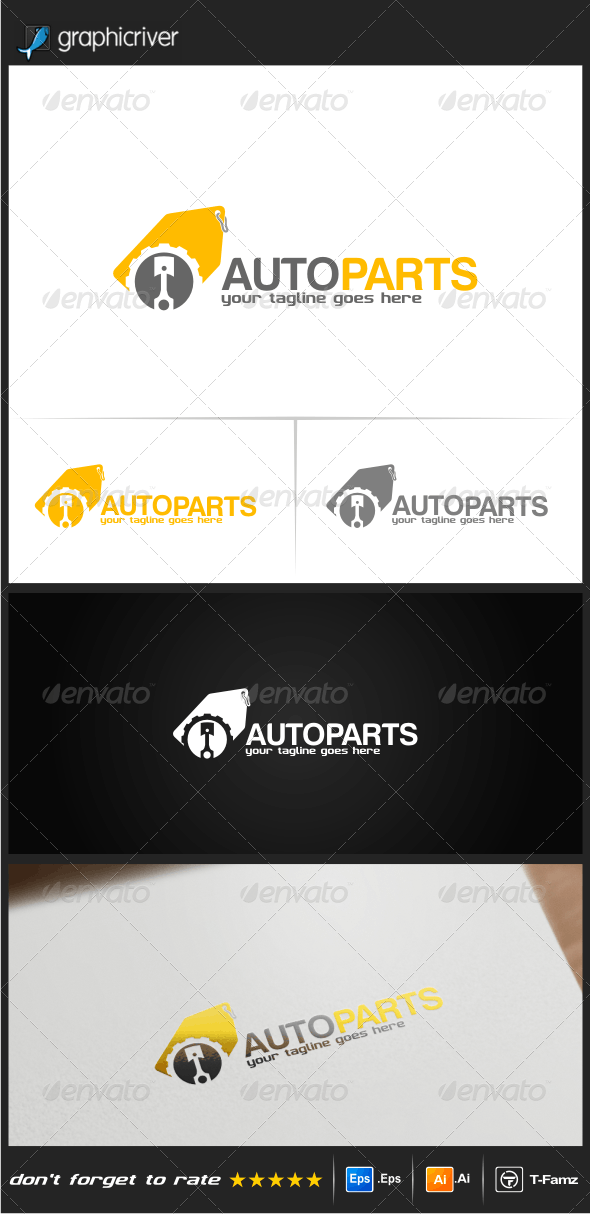 Auto Parts Logo Templates - Objects Logo Templates