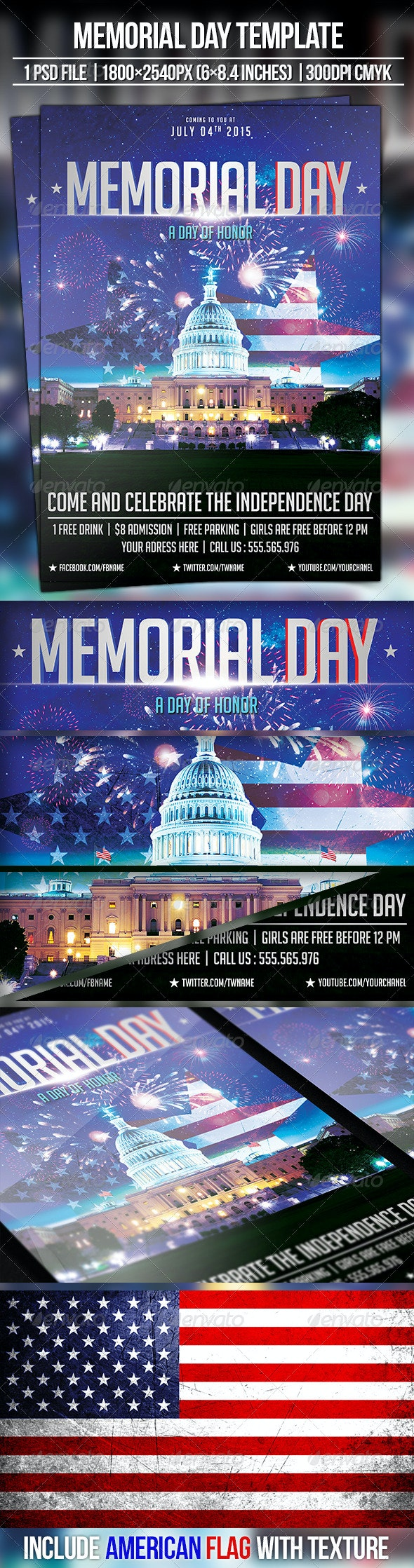 Memorial Day | 4th of July - Holidays Events