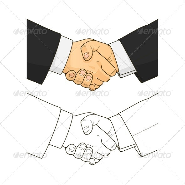 Male Handshake - Concepts Business