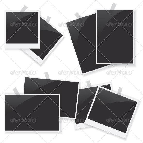 Photo Frame Set - Decorative Vectors