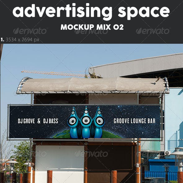 10 Ad Mock Up's Mix 02