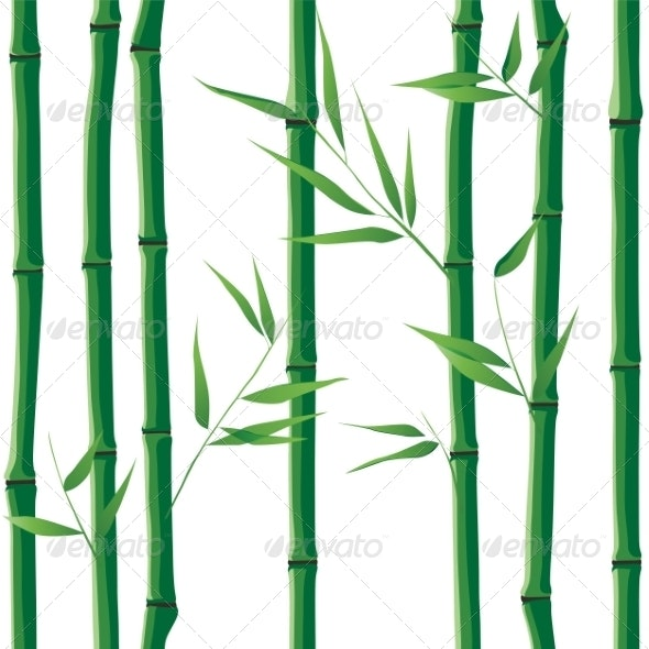 Seamless Bamboo - Flowers & Plants Nature