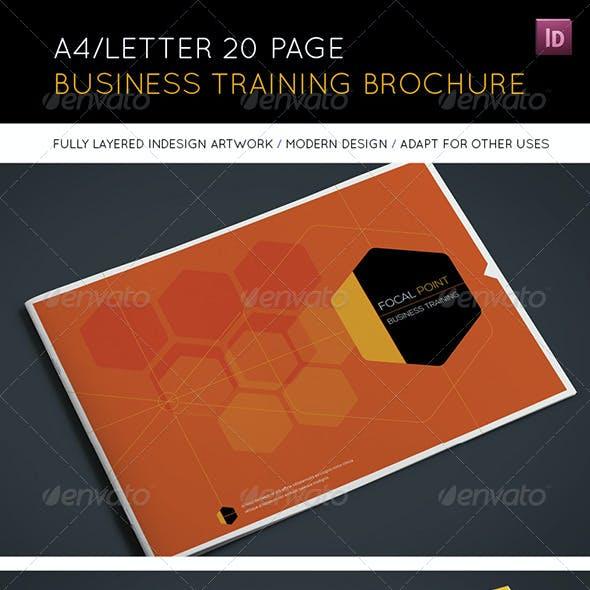 20 Page Landscape Business Training Brochure