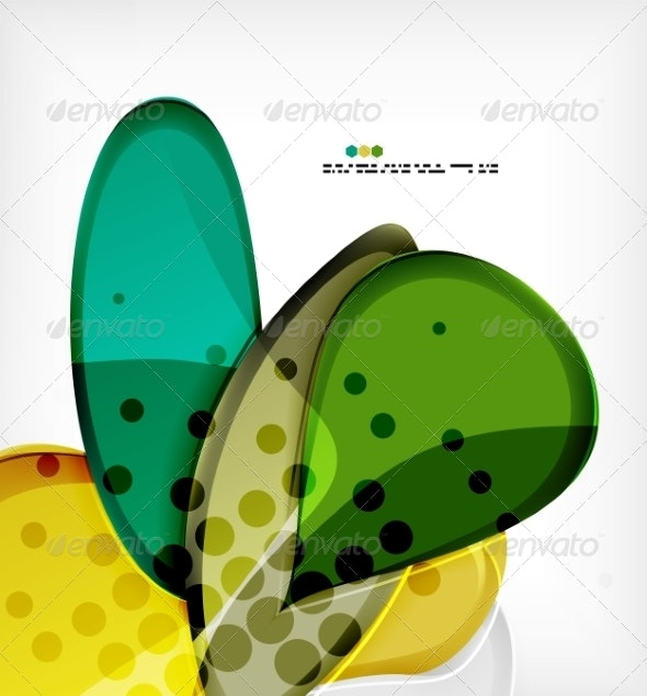 Round Shapes Abstract Background - Abstract Conceptual