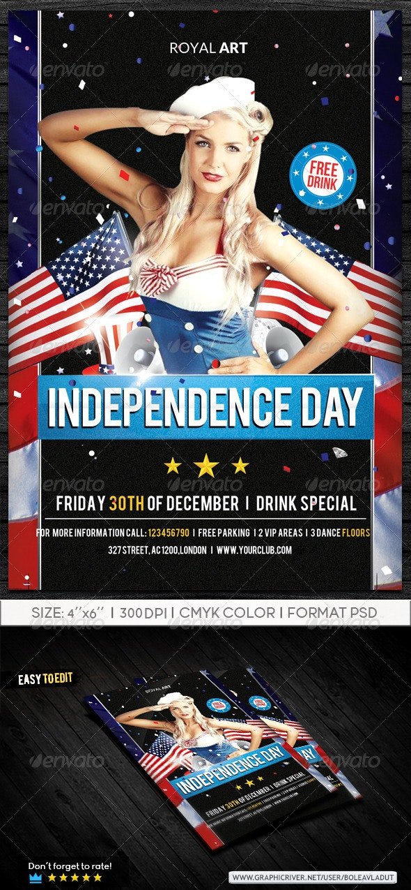 Independence Day - Holidays Events