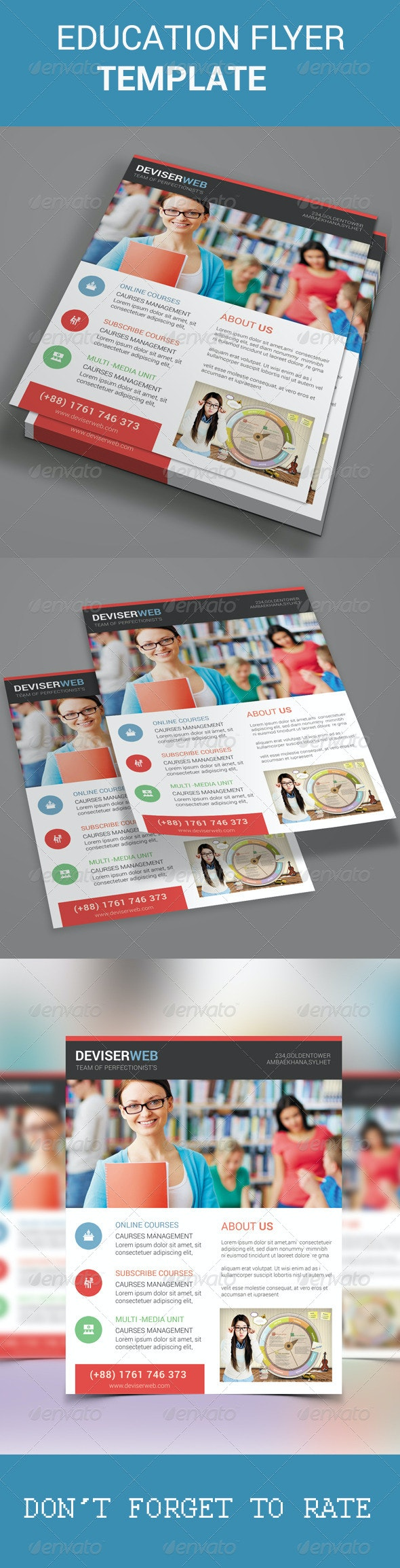 Educational Flyer Template - Corporate Flyers