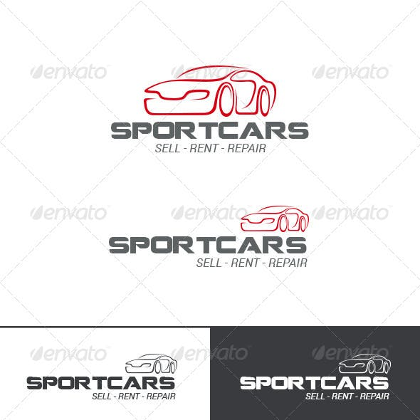Auto Car Logo Abstract